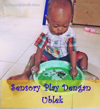 Sensory Play Dengan Ublek