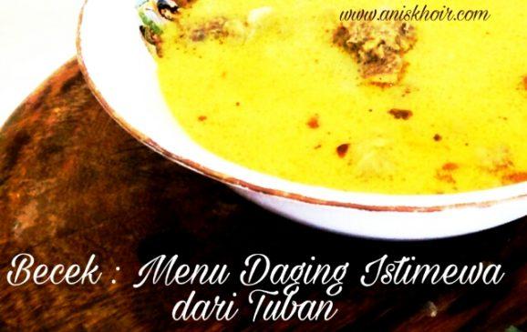Sssttt…Ini Dia Kuliner Yang Paling Dicari di Tuban