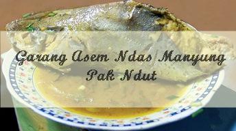 Kuliner Tuban, Garang Asem Ndas Manyung Pak Ndut
