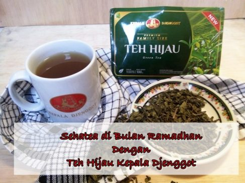 Sehatea di Bulan Ramadhan Dengan The Hijau Kepala Djenggot