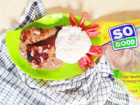 Ayam So Good Bakar Teflon Bumbu Sate