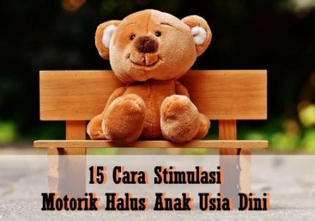 15 Cara Stimulasi Motorik Halus Pada Anak Usia Dini