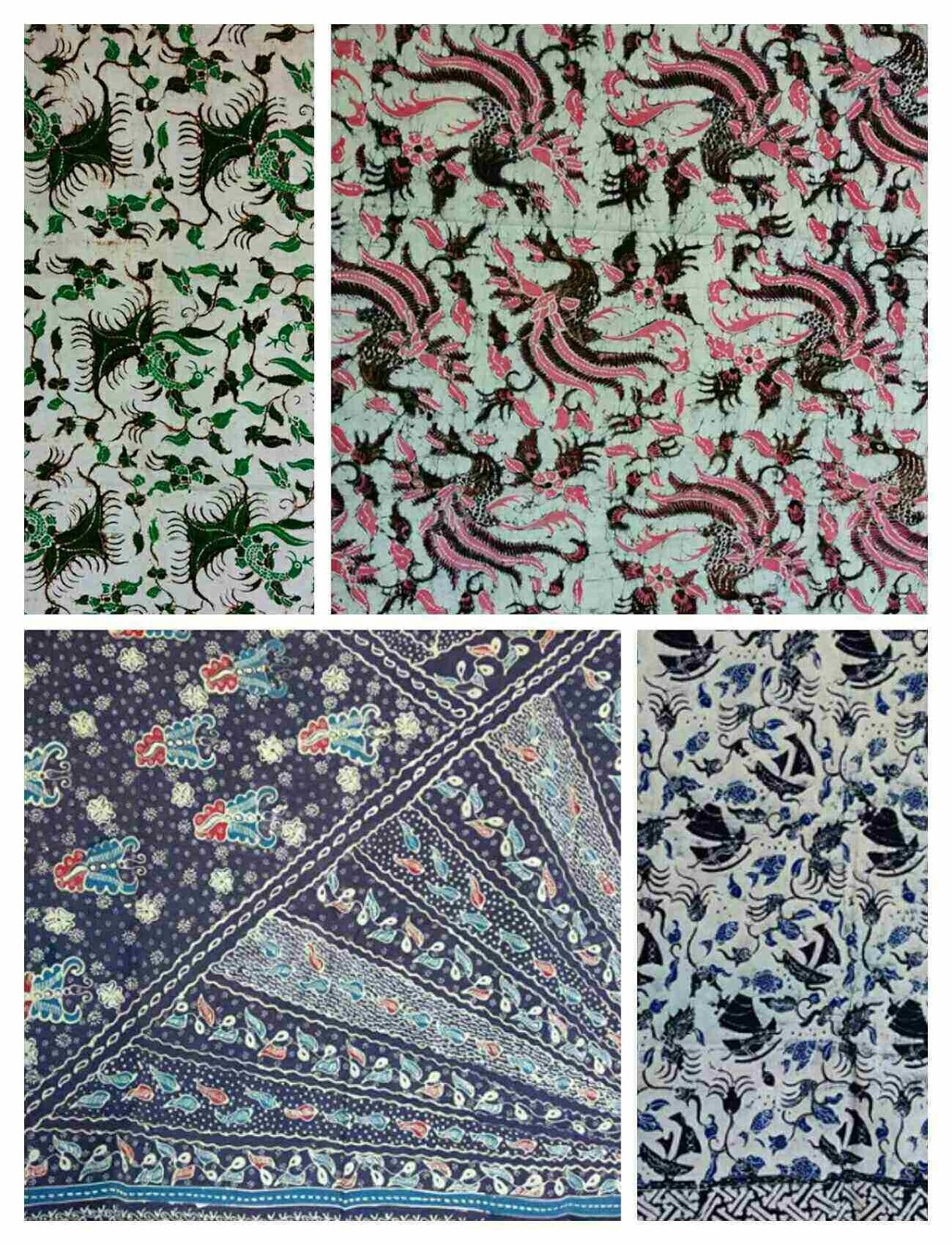Corak batik gedok