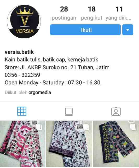 Versia batik