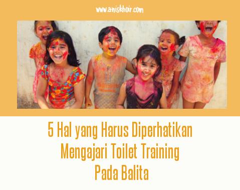 Toilet training pada balita