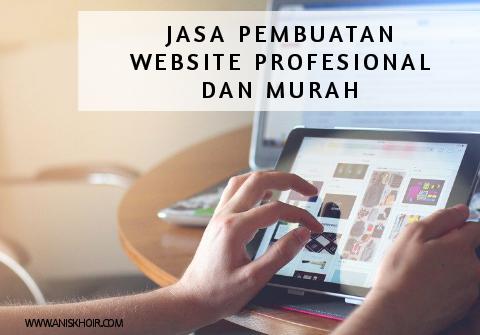 Jasa Pembuatan Website Profesional dan Murah