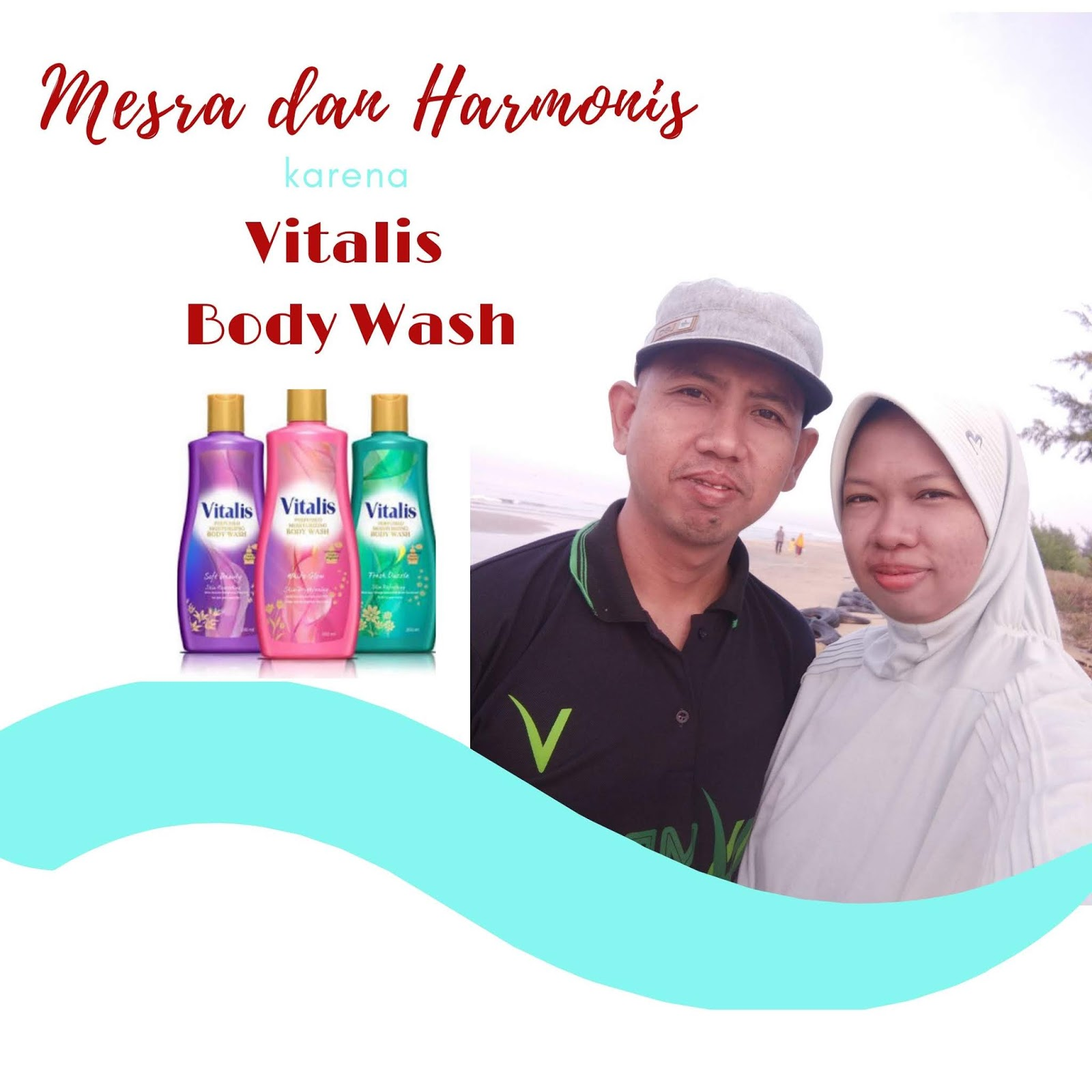 Mesra dan Harmonis bersama Vitalis Body Wash