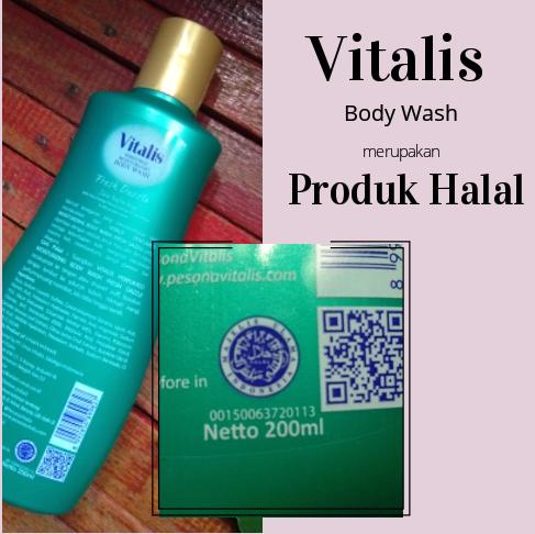 vitalis body wash halal