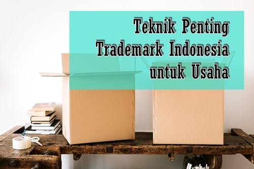 trademark indonesia