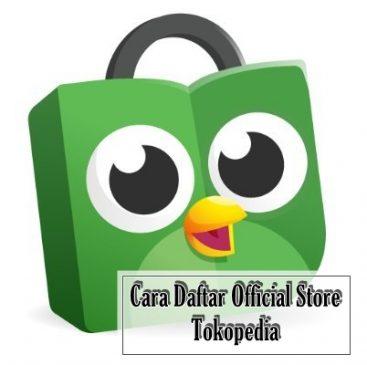 daftar official store tokopedia