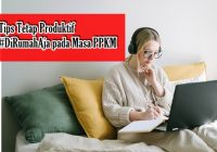 tips produktif dirumahaja